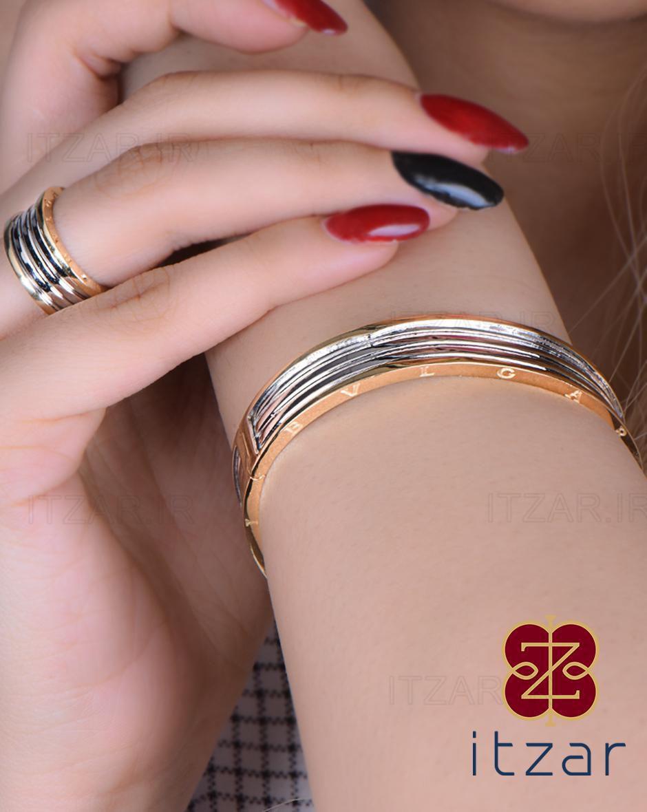 دستبند انشگتری bvlgari
