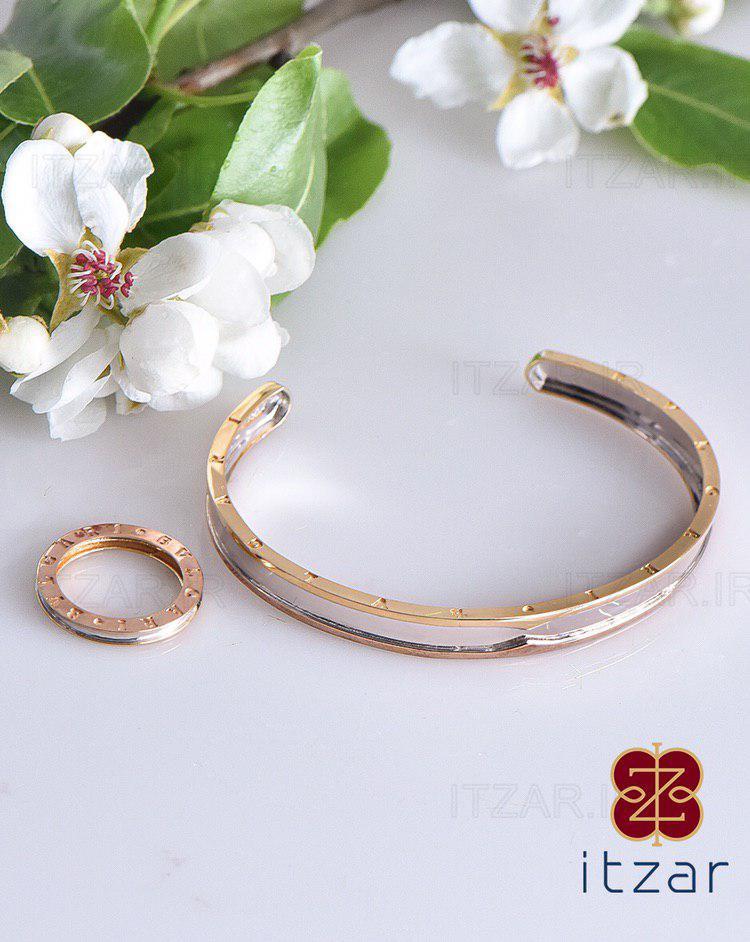 دستبند انگشتری BVLGARI