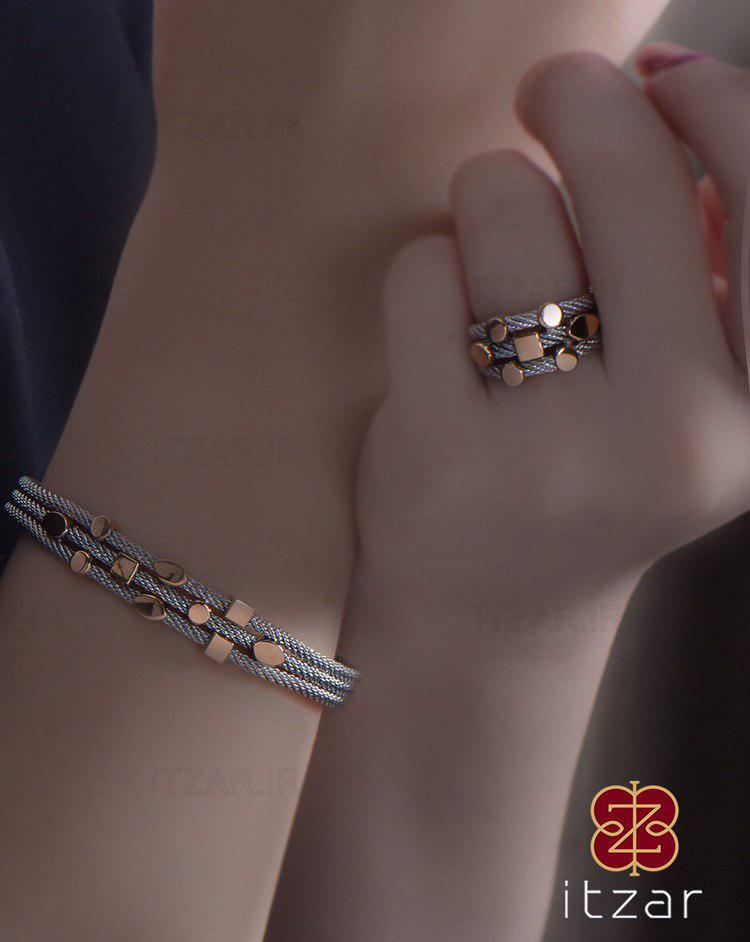 دستبند انگشتر الهیه ریبا