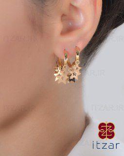 گوشواره پولکی ستاره