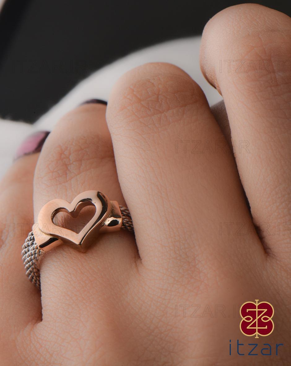 انگشتر فرد قلب
