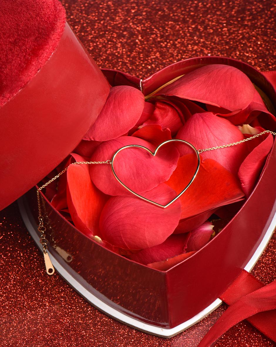 دستبند گالری قلب