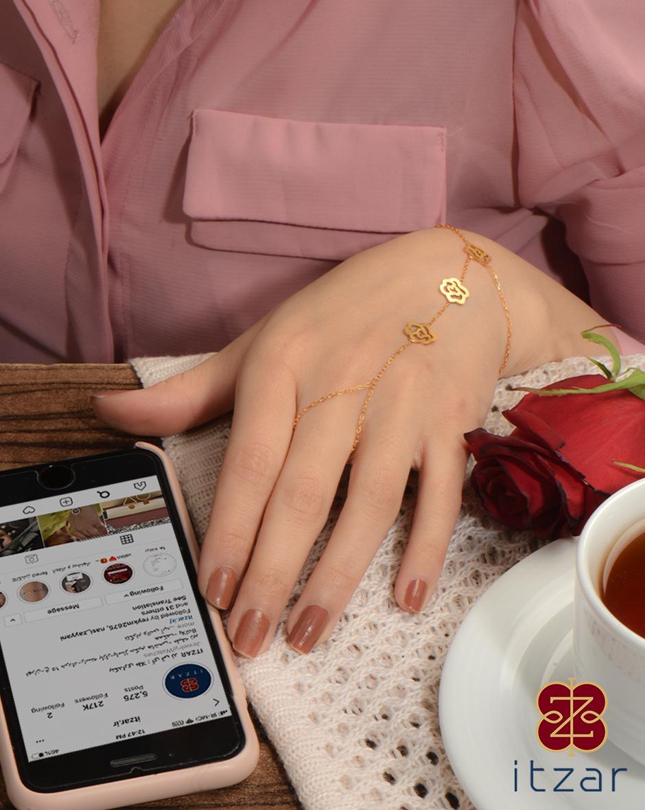 دستبند لیبرا فلور
